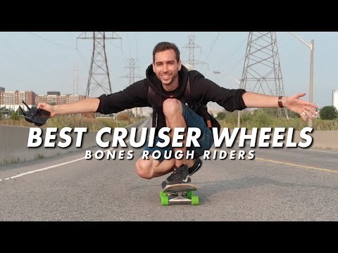 The Best Cruising Wheels | BONES Rough Rider Skateboard Wheels