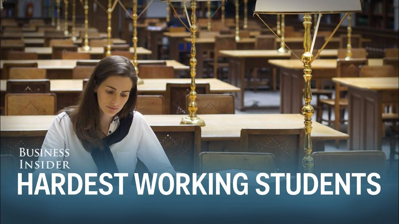 The colleges with the hardest working students
