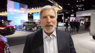 Brian Heckler at the 2018 LA Auto Show