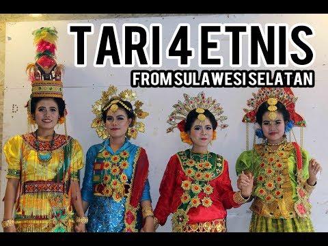 Tari 4 etnis dari Sulawesi Selatan