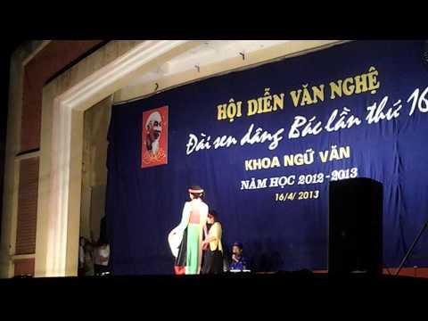 Tiết mục Kịch: Thị Mầu lên chùa của Khoa Ngữ Văn-Trường Đại học Sư phạm Hà Nội 2