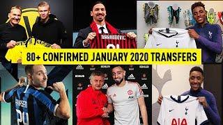 80+ ALL CONFIRMED JANUARY 2020 TRANSFERS😱✅ | w REINIER, HAALAND, GEDSON FERNANDES & BRUNO FERNANDES