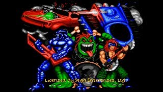 Rock n' Roll Racing. SEGA Genesis. Full Game Walkthrough