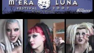 Venus on Drugs on Electro/Goth Festival M'era Luna 2009, Feat. Adora Batbrat