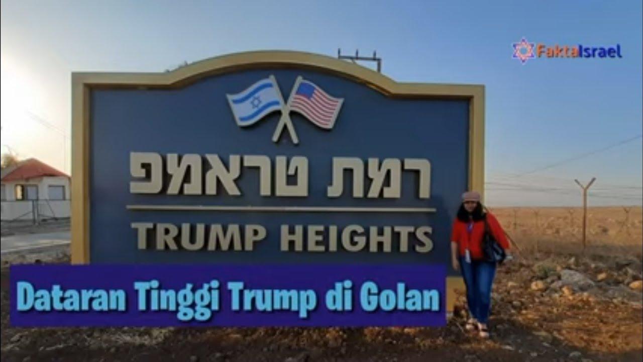 Dataran Tinggi Trump di Golan