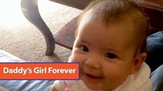 Dad Talks To Baby Girl About Boys
