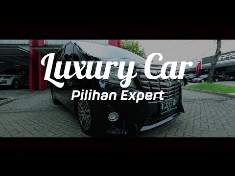 Toyota Alphard Executive Lounge | Luxury Car by Pilihan Expert