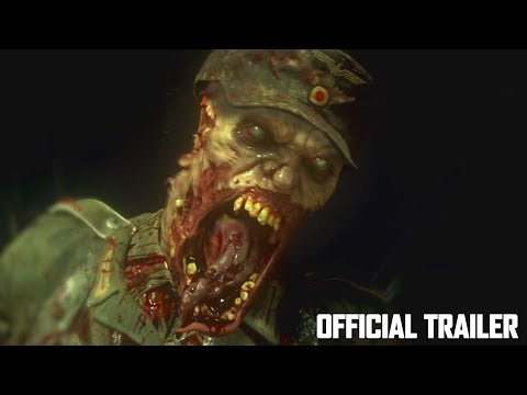 CALL OF DUTY WW2 ZOMBIES TRAILER REACTION & BREAKDOWN! (COD WW2 ZOMBIES LIVE REVEAL)