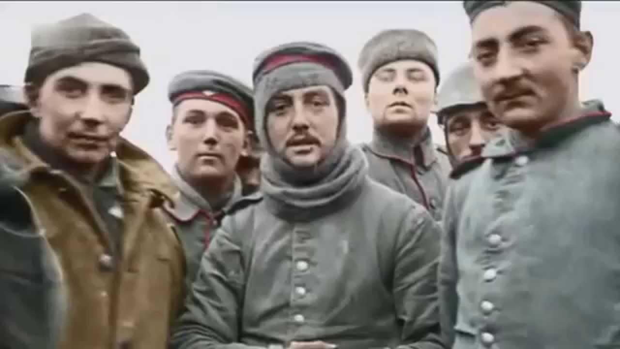 Weihnachtswaffenstillstand 1914 Deutsch Gedenken 100 Jahre - YouTube