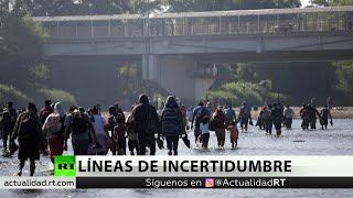 2.400 migrantes entran legalmente a México