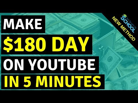Earn $100 A Day On YouTube Without Creating Videos | Make Money Online