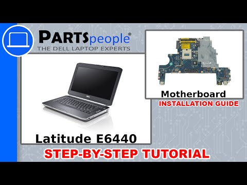 Dell Latitude E6440 Motherboard How-To Video Tutorial - YouTube