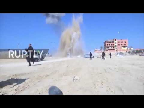 State of Palestine: Fisherman injured as Israel launches airstrikes on Gaza