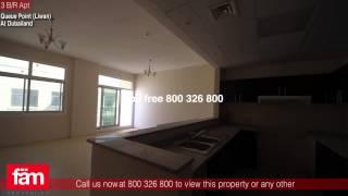 3 B/R Apt For Sale, Queue Point (Liwan), Dubailand - UAE