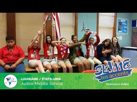 Slame tes accents 2019 - Judice Middle School en Louisiane