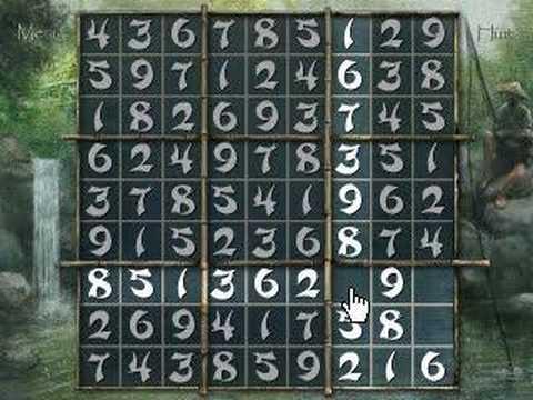 Zen of Sudoku gameplay video