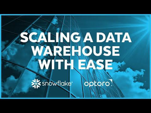 Optoro - Choosing Snowflake Over a Build Solution