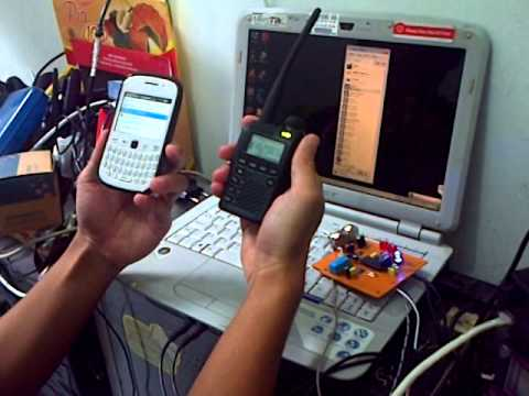 how to turn on the dtmf keypad on the kg-uvd1