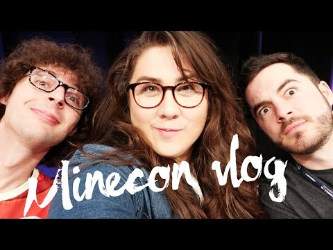 YOUTUBER SANDWICH WITH STAMPY AND CAPTAIN SPARKLEZ! - MINECON 2016 DAY 2