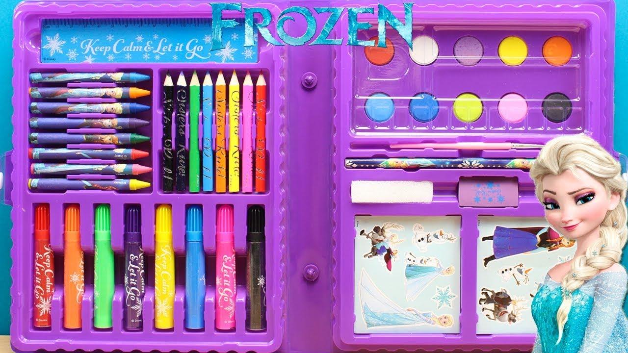 Juguetes De Frozen Para Dibujar Pintar Y Colorear Para Ninos