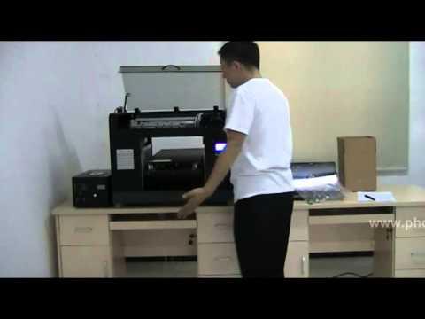 Brotherjet A3 UV printer set up training