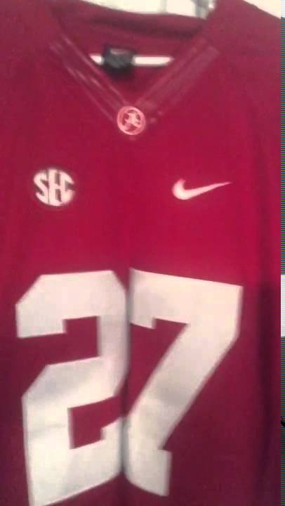 size 40 07c47 cc4ae Mary Jersey #27 Derrick Henry Alabama Crimson Tide Review