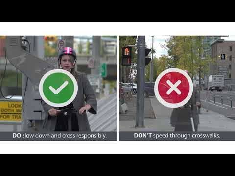 Shared Electric Scooters Dos and Don'ts