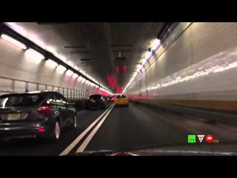 Driving through the Holland Tunnel from NJ to NYC - www.HTO.tv