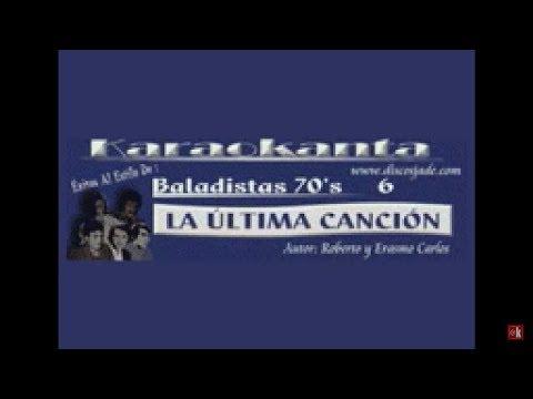 Karaokanta - Paulo Sergio - La última canción