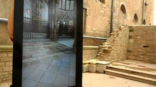 Cluny Abbey. Augmented Reality. Abadía de Cluny. Realidad Aumentada. Románico