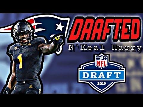 Patriots Draft WR N'Keal Harry
