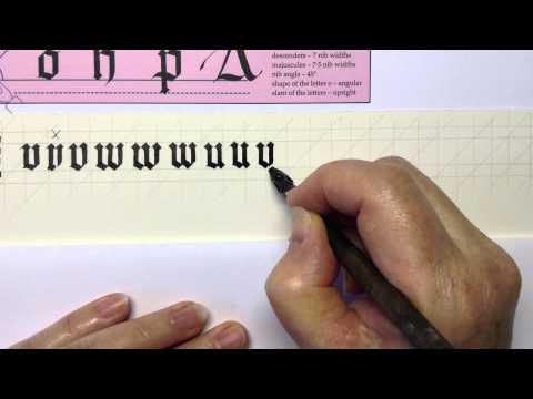 Gothic Book Script/Black Letter 5