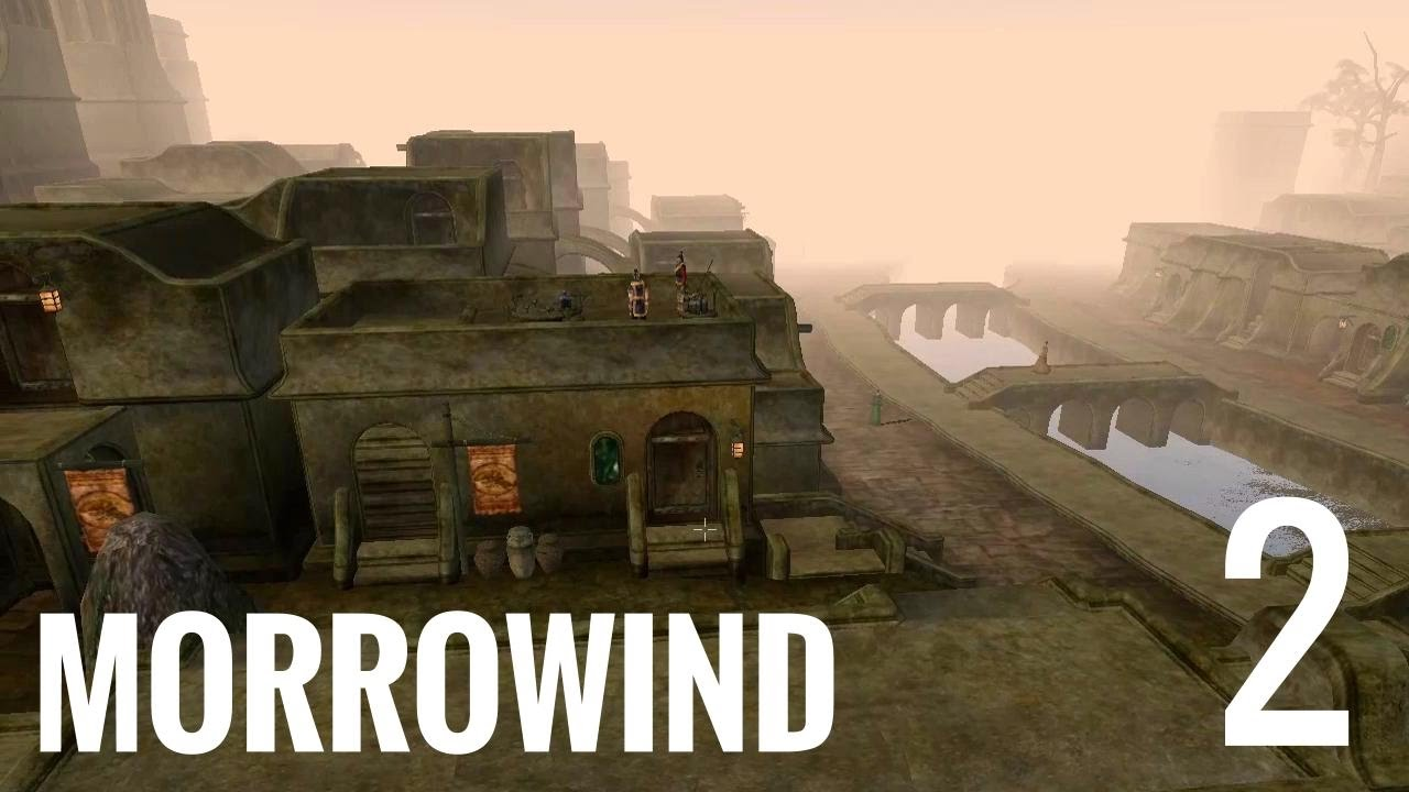 Morrowind 2 - Finding Caius Cosades in Balmora by Endgame Viable
