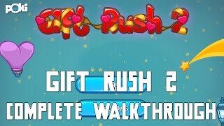 Christmas Presents! Gift Rush 2, Complete Walkthrough