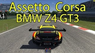 Assetto Corsa - BMW Z4 GT3 at Imola [Live Commentary] v0.4