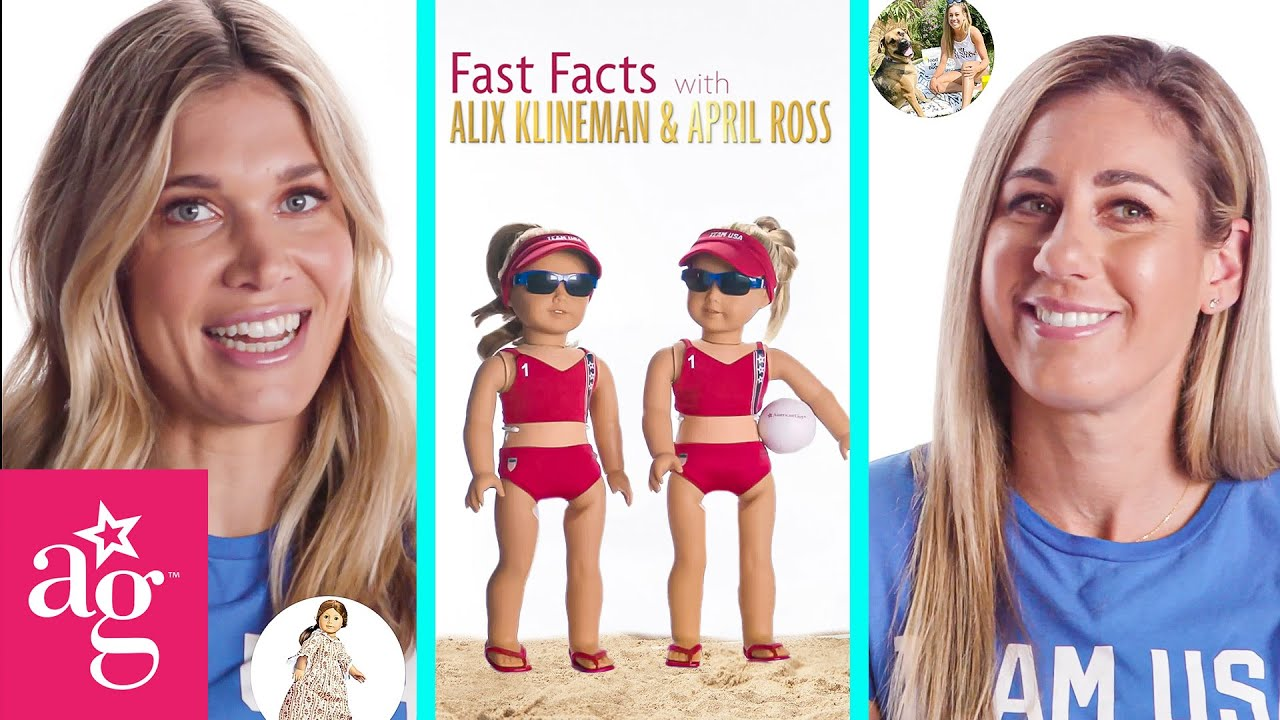 Fun Facts with Alix Klineman & April Ross!   Team USA x AG   Volleyball Olympics 2021 #Shorts