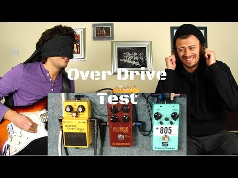 Blindfold Overdrive Pedal Test