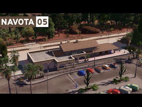 Train Station & Suburbs - Cities Skylines: Navota - Part 5 -