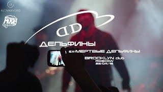 Дельфины (ex - Мертвые Дельфины) концерт Brooklyn 23/04/16 Moscow
