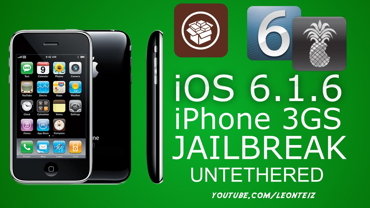 how to jailbreak an iphone 6 how to jailbreak ios 6 1 6 untethered iphone 3gs with 18894