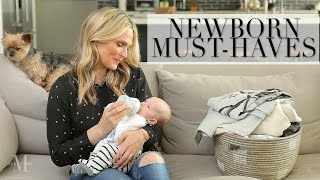 My Newborn Must-Haves for Baby Grey