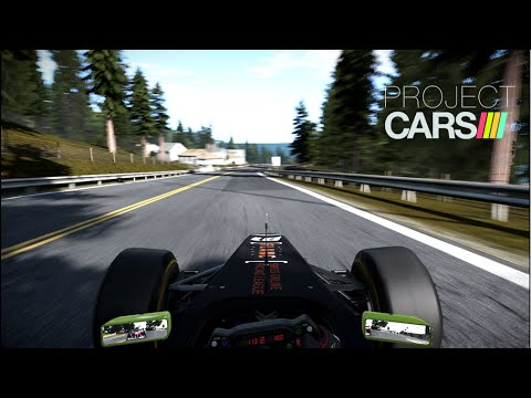 Project CARS California highway formula A race