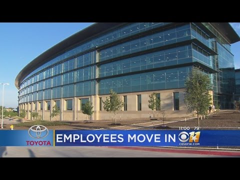 200+ Employees Officially Move In At New Toyota HQ In Plano