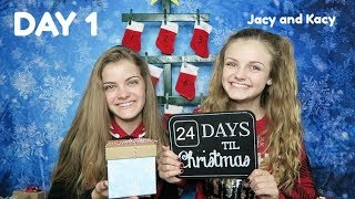 Christmas Countdown 2017 ~ Day 1 ~ Jacy and Kacy