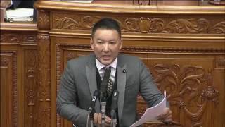 山本太郎vs安倍晋三【全21分】1/25参議院・本会議