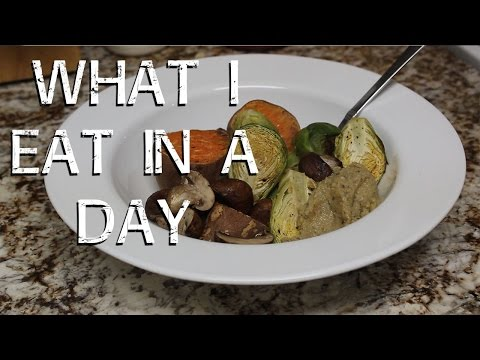 VEGAN - What I Eat In A Day - 1