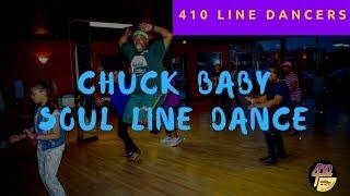 Chuck Baby Line Dance with Walk-thru - Dallas, Tx | Chuck Brown