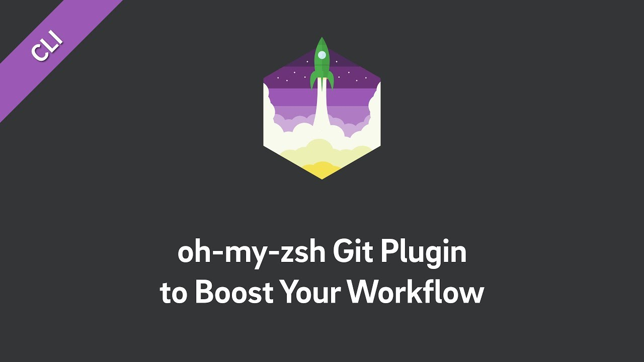 git on zsh — you're on 🔥 with the oh-my-zsh git plugin