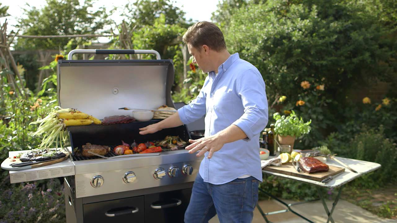 Jamie oliver on bbq heat control youtube - Barbecue jamie oliver ...