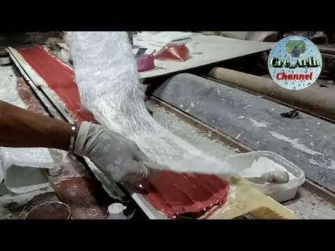 #FIBERGLASSMOLDS  How To Make a Fiberglass Mould || part 3